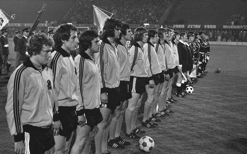 Elftalfoto Nederlands Elftal - Nederland - Peru 3-0, 3 mei 1972