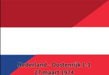 Nederland - Oostenrijk 1-1, 27 maart 1974