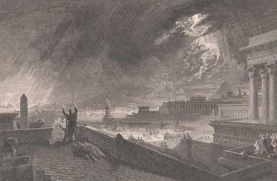De 7e Plaag: hagel enstorm
