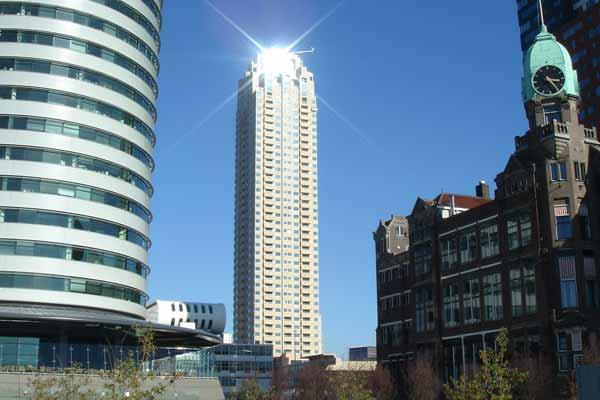 New Orleans in Rotterdam, Hoogste gebouwen van Nederland, de top 30