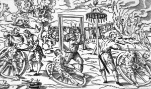 Radbraken, gruwelijke martelmethoden