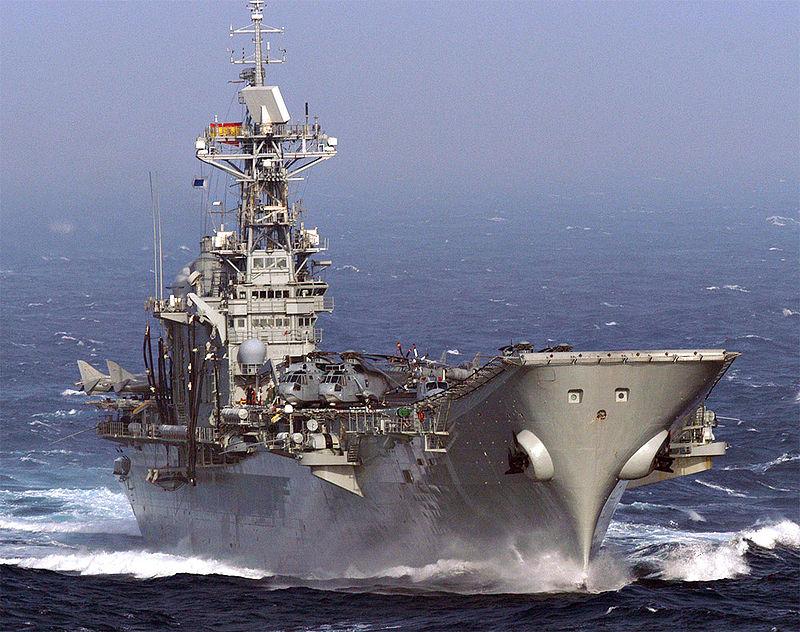 Spanje's vliegdekschip de Principe de Asturias, De sterkste zeemachten ter wereld