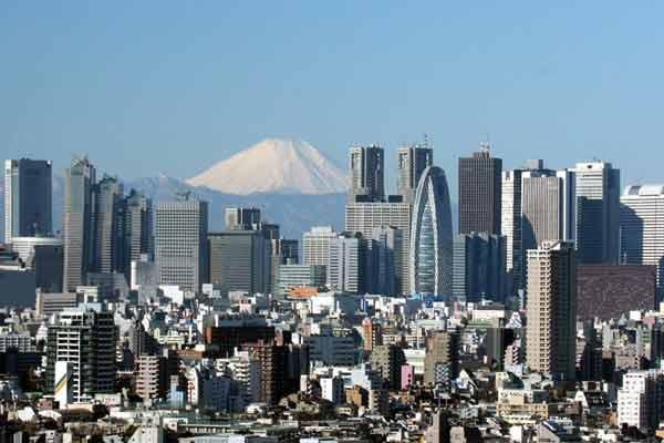 Tokio Steden met de meeste inwoners ter wereld