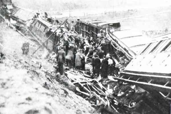 1918 Treinongeval bij Weesp