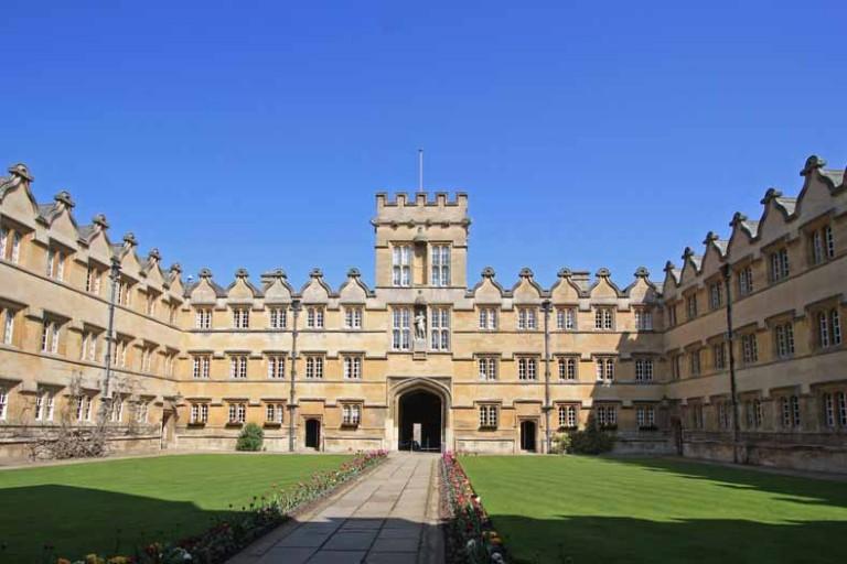 Beste universiteit van Europa is Oxford (2016)
