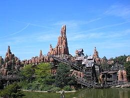 Big Thunder Mountain in Disneyland Parijs