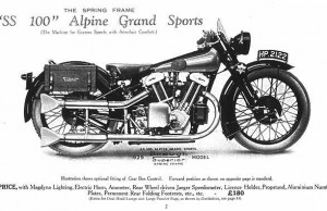 Brough Superior SS 100 Alpine Grand Sports, Snelste motoren ter wereld sinds 1894