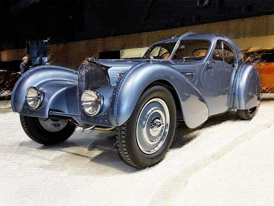 De Bugatti 57SC, De allerduurste auto's ter wereld
