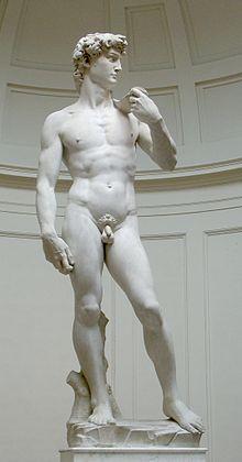 De tien meest beroemde standbeelden ter wereld,, David van Michelangelo