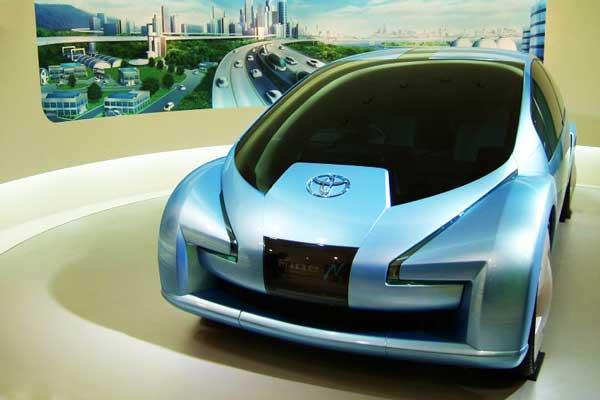 De auto van de toekomst rijdt autonoom