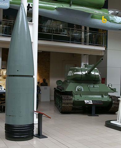 Een granaat van Gustav