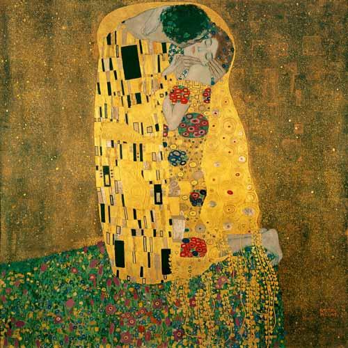 Gustav Klimt, De Kus
