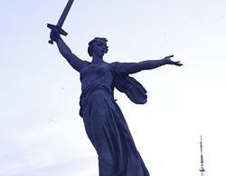 De tien meest beroemde standbeelden ter wereld,, Het Moederland roept