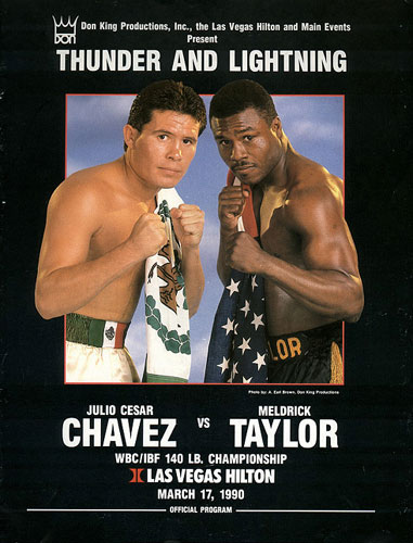 Julio Cesar Chavez vs. Meldrick Taylor