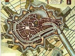 De oudste steden van Nederland, Middelburg in 1652