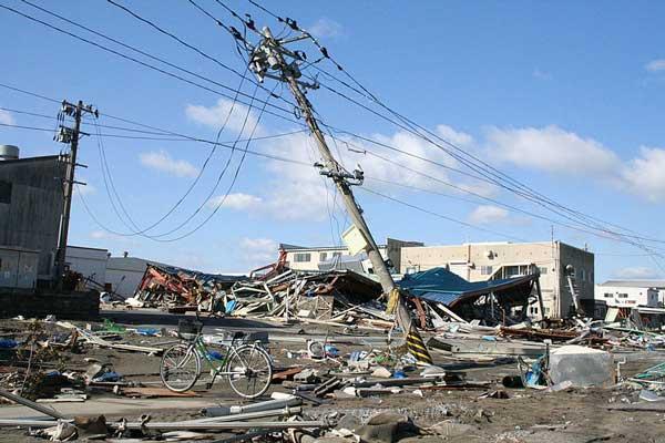 Verwoestingen in Ishinomaki