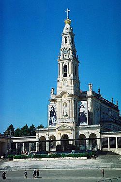 De basiliek van Fátima