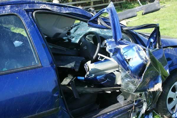 Top 10 bizarre auto-ongelukken