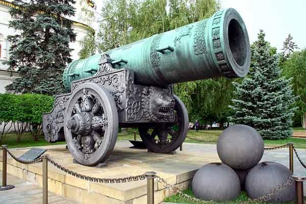 De grootste kanonnen ter wereld, Top 10 met filmpjes