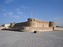 Arad Fort in Arad in Bahrein