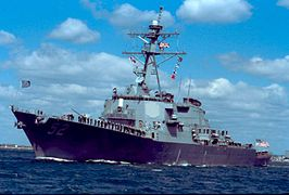 Arleigh Burke DDG 51 Destroyer
