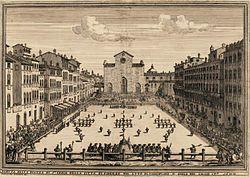 Calcio Fiorentino in 1688