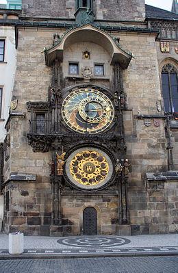 Het astronomisch uurwerk van Praag