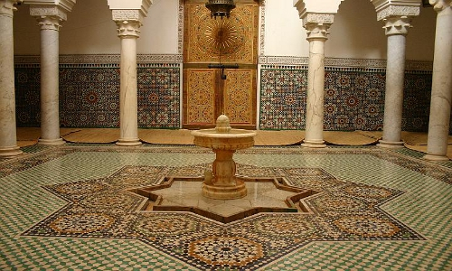 Mausoleum van Moulay Ismail in Meknes