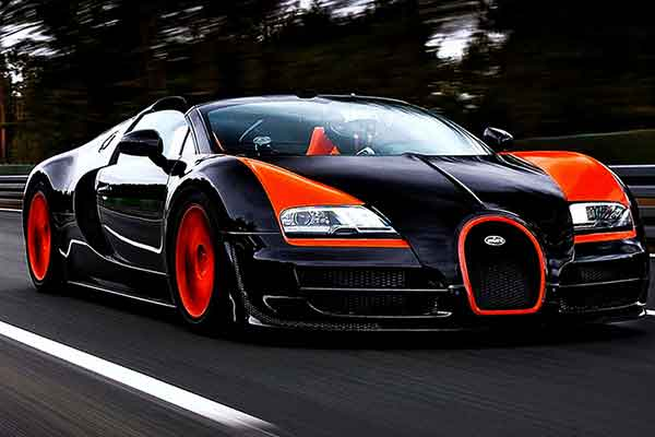 Bugatti Veyron Super Sports Is Duurste Sportauto Ter