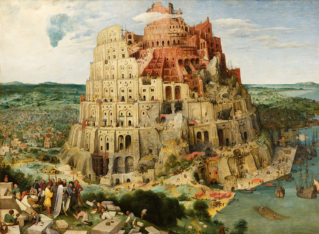 Pieter Bruegel de Oude - De toren van Babel