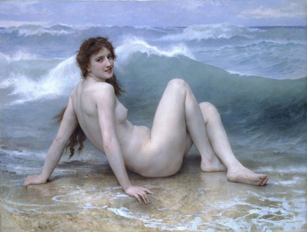 William-Adolphe Bouguereau - La Vague