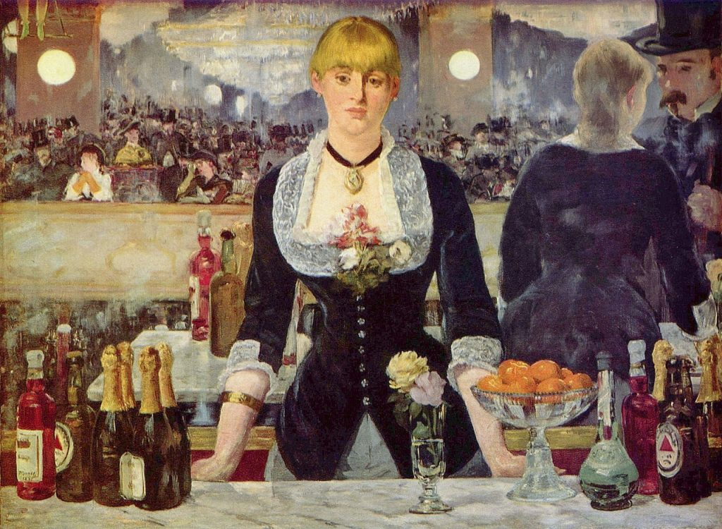 Edouard Manet - Een bar in de Folies-Bergère