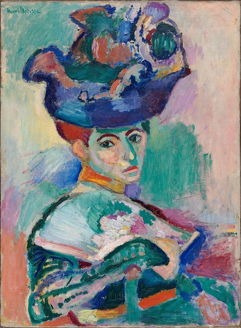 Henri Matisse - La femme au chapeau