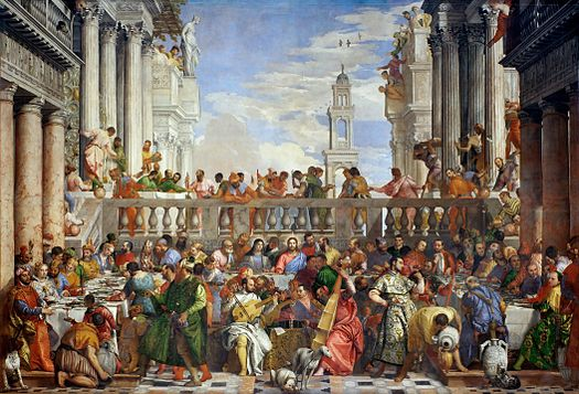 Paolo Veronese - De bruiloft te Kana / The Wedding At Cana (1563)