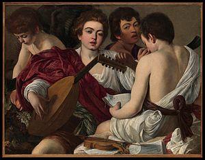 Caravaggio - Het concert / Concerto