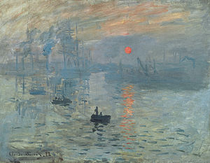 Claude Monet - Impressie, opkomende zon