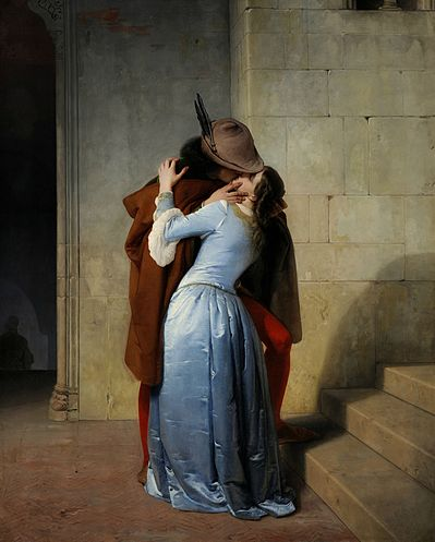 Francesco Hayez - Il bacio / De kus / The kiss (1859)