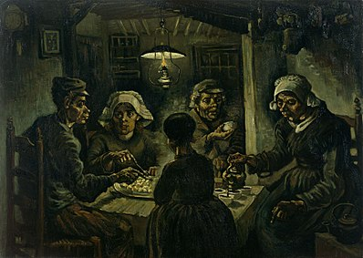 Vincent Van Gogh - De aaardappeleters / The Potato Eaters