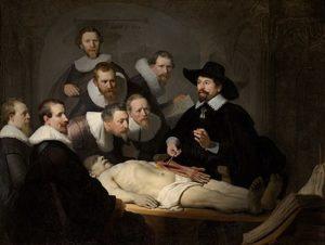 Rembrandt - De anatomische les van Dr. Nicolaes Tulp / The Anatomy Lesson Of Dr. Nicolaes Tulp (1632)