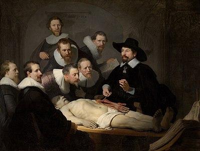 85. Rembrandt - De anatomische les van Dr. Nicolaes Tulp / The Anatomy Lesson Of Dr. Nicolaes Tulp (1632)