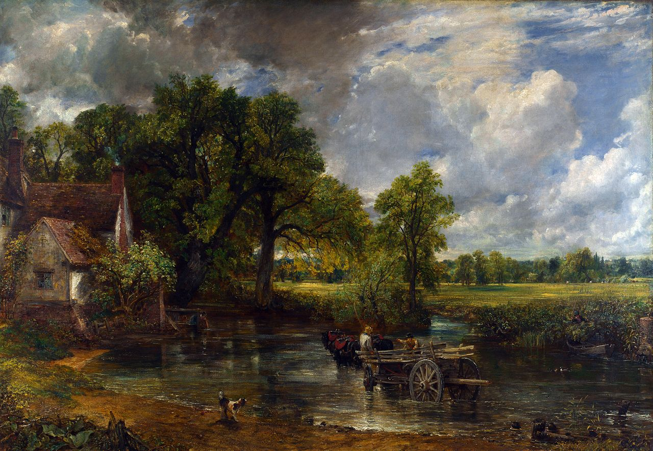 John Constable - De hooiwagen / The Hay Wain (1821)