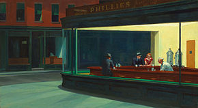 Edward Hopper – Nighthawks