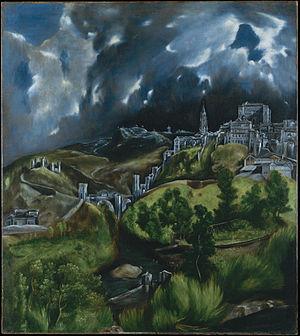 El Greco - Gezicht op Toledo