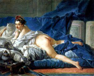 Francois Bouchaer - Odalisque (Ca. 1749)