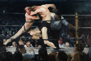George Bellows - Stag Night At Sharkeys