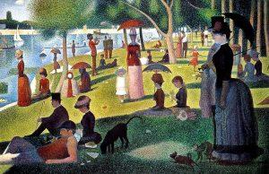 Georges Seurat - Zondagmiddag op het La-Grande-Jatte-eiland