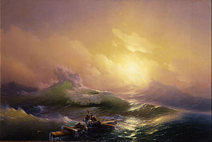 Ivan Aivazovsky - The Ninth Wave
