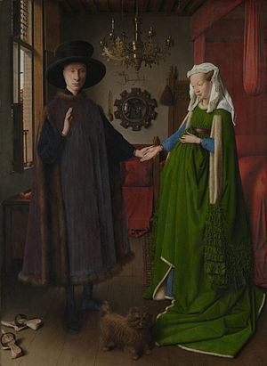 Jan van Eyck - Portret van Giovanni Arnolfini en zijn vrouw