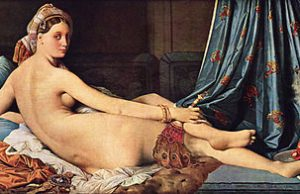 Jean Auguste Dominique Ingres - La grande odalisque