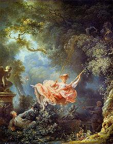 Jean-Honore Fragonard - De schommel